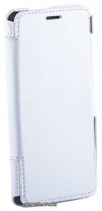 Florence кожаный чехол-книжка для Lenovo S850 белая, фото 2
