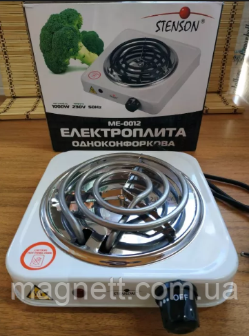 Электроплита спиральная STENSON ME-0012 1000W