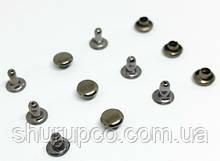 Хольнитен односторонний 6 мм темный никель (100 шт/уп)