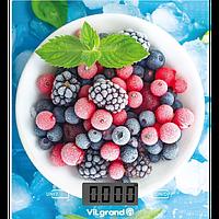 Ваги кухонні електронні 5 кг (без чаши) Ягоды ViLgrand VKS-525_Berries
