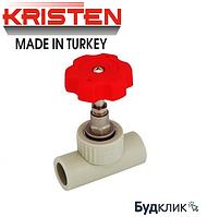Kristen Турция Кран Вентильный 25