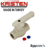 Kristen Турция Кран Шаровый 40