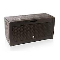 Ящик для хранения Prosperplast Boxe Matuba 310 л, коричневый