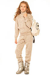 Теплый детский костюм для девочки трикотажный интернет магазин размеры 140-152