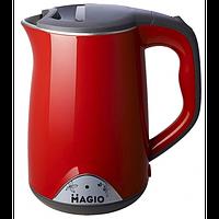 Электрочайник-Термос MAGIO МG-514 1,7л/2200Вт/диск/двухслойный нерж. корпус Magio МG-514