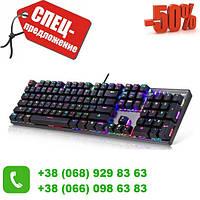 Распродажа! Проводная клавиатура с подсветкой KEYBOARD HK-6300 по самой низкой цене!