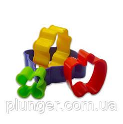 Форми для печенья пластиковые Люкс