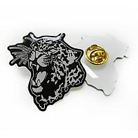 """Значок-линза сувенирный на подарок """"Леопард"""""""