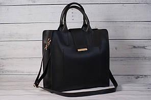 Женская сумка черного цвета ( код: IBG075B )