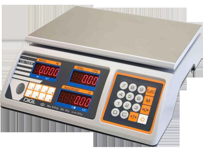Весы торговые Digi DS 700 EB (6 кг)