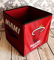 УЦЕНКА.Короб складной для игрушек, вещей и мелочей. 30*30*30см. Майами