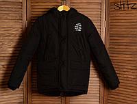 Зимняя Мужская Теплая Куртка-Парка Anti Social Social Club Мужские Черные Куртки Зимние