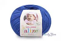 Alize Baby Wool, василек №141