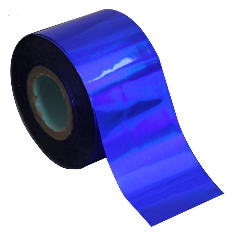Фольга переводная для литья (синяя) 1 м.