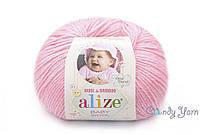 Alize Baby Wool, розовый №194