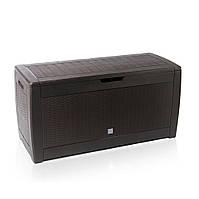 Ящик для хранения Prosperplast Boxe Rato 310 л, коричневый