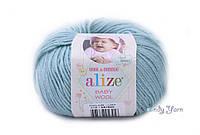 Alize Baby Wool, мята №114
