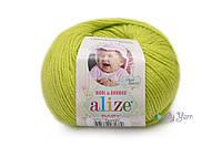 Alize Baby Wool, фисташка №612