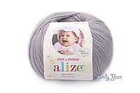 Alize Baby Wool, талая вода №52