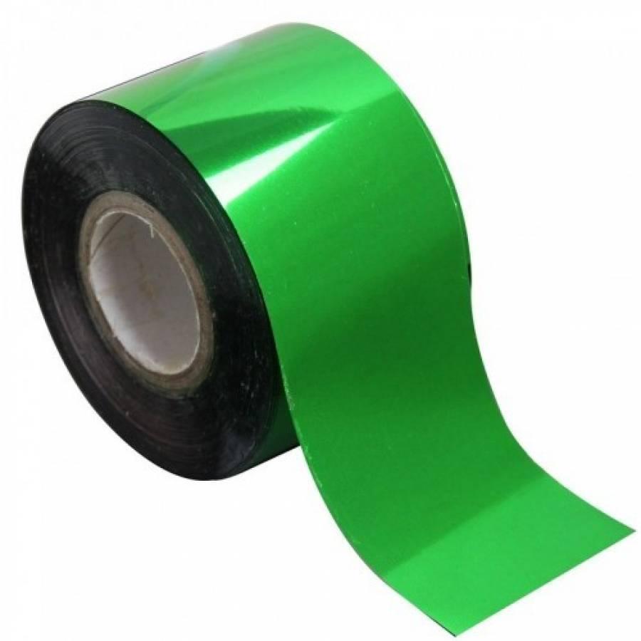 Фольга переводная для литья (зеленая) 1 м.