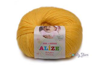 Alize Baby Wool, желтый №216