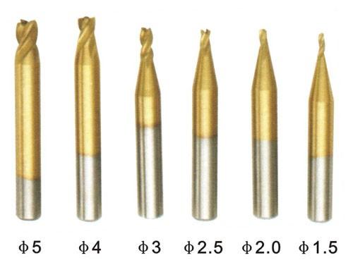 Фреза для вертикальной фрезировки №102А, d2.5мм