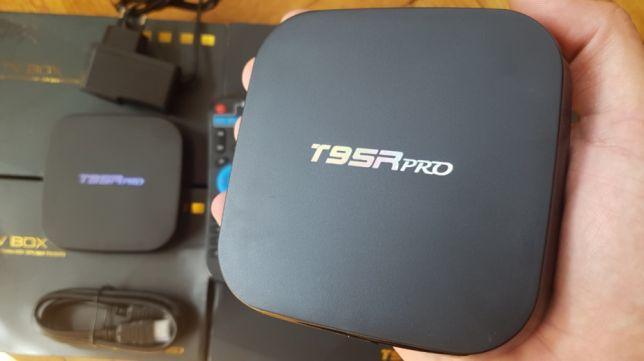 SmartTV Sunwell T95R 3/32гб Android Box СмартТВ Приставка Андроид Бокс