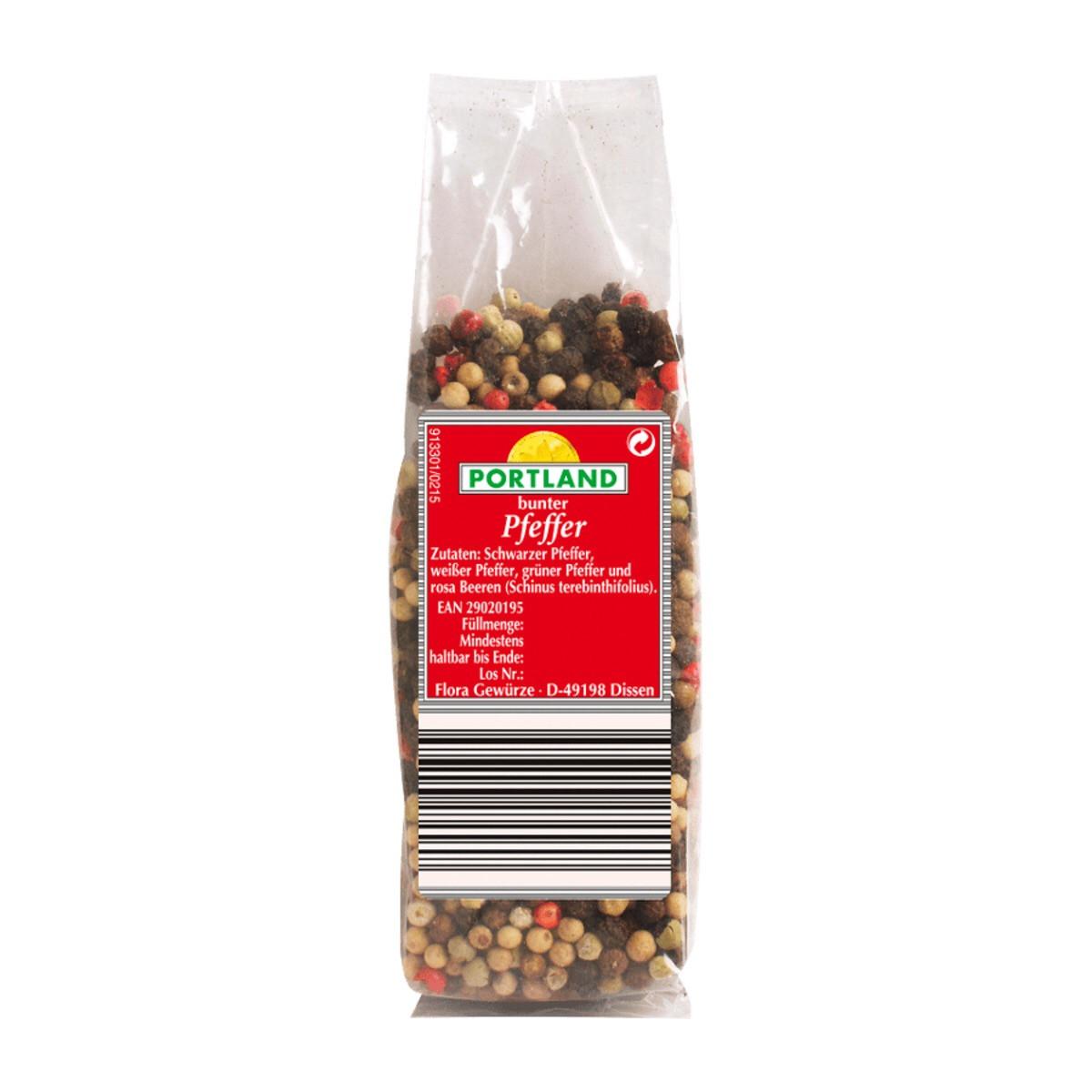Микс четырех перцев горошком Portland Pfeffer Bunter, 90 грамм