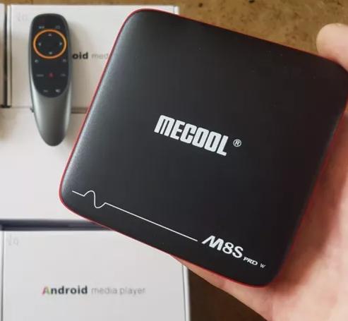 ⫸Android Box Mecool M8s W Voice 2/16 СмартТВ Приставка Андроид SmartTV