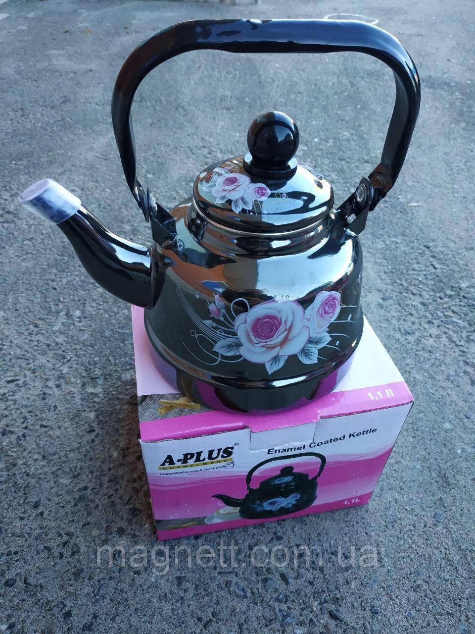 Чайник Эмалированный А-Плюс 1,7 л