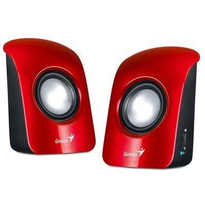 Акустическая система 2.0 Genius SP-U115 Red