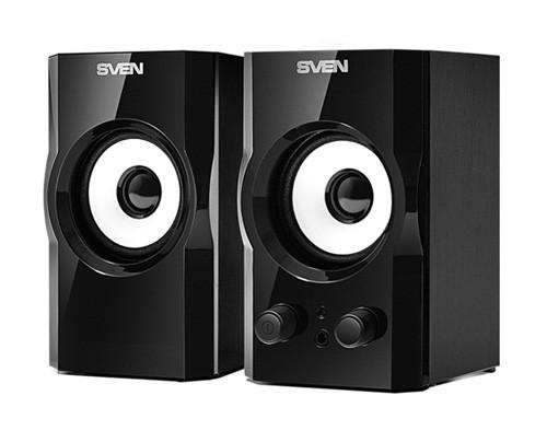 Акустическая система 2.0 SVEN SPS-605 Glossy black