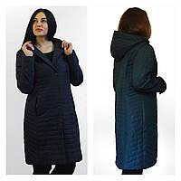 Демисезонная удлиненная куртка на тинсулейте. Размеры 50-52 Фабричный Китай  QARLEVAR