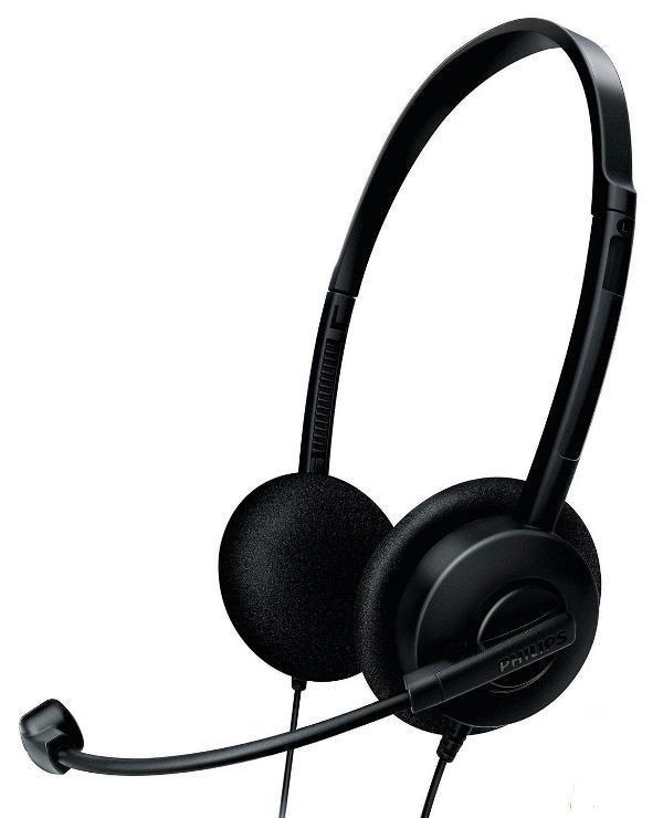 Навушники гарнітура Philips SHM1500 (Black)