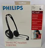Наушники гарнитура Philips SHM1500 (Black), фото 4