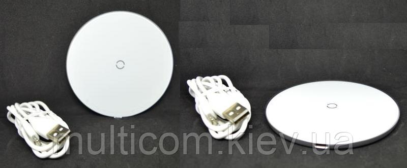 04-03-005. Беспроводная зарядка Baseus Simple Wireless Charger, черная или белая, (CCALL-JK01)