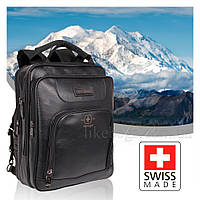 Сумка-рюкзак Swiss черный 50167