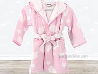 Халат детский Irya Cloud розовый 5-6 лет