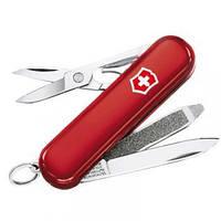 Нож Складной Мультитул + LED  Викторинокс Victorinox SWISSLITE (58мм, 7 функций), красный 0.6228