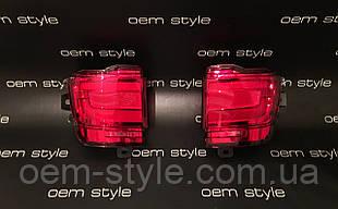 Вставки в бампер LED Toyota Land Cruiser 200 2015-2018