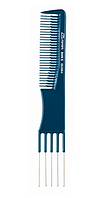 Расчёска №102 «Blue Profi Line» для тупирования с гребнем