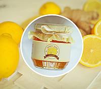 Лимонный мармелад с имбирем