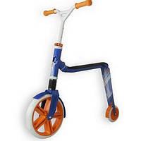 Самокат Scoot and Ride серии Highwaygangster бело-сине-оранжевый, от 5 лет, макс 100кг, Scoot and Ride
