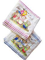 Салфетки Велюровые мишки 25*25 хлопок 20 шт в упак.