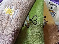 Кухонное полотенце махровое плотное Кофе 20 шт в уп. Ассорти Размер 28х45 100% хлопок кухонное полотенце