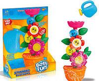 """Водопад Bath Fun 9909 """"Цветок в горшке"""" для ванной на присоске, в коробке"""