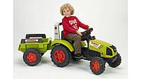 Трактор Педальный с Прицепом Claas Arion 430 Falk 1040B, фото 1