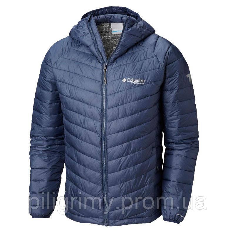a566417d4ac1 Мужская Куртка Columbia SNOW COUNTRY™ HOODED JACKET Синяя 1823141 ...
