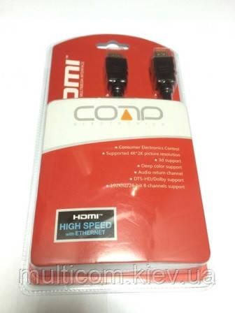 05-07-065. Шнур HDMI (штекер - штекер), version 1.4, в блистере, 2м
