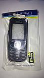 Корпус Nokia 2323 с клавиатурой чёрно-серебристый, фото 2